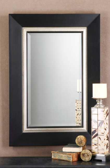 Whitmore Black Vanity Mirror - Hudsonhill Foundry