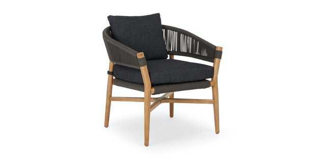 Makali Slate Gray Lounge Chair - Article