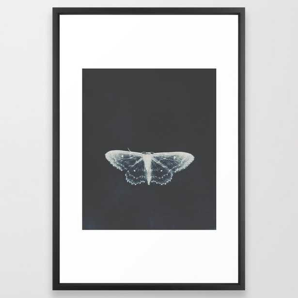 Butterfly Framed Art Print by Ingrid Beddoes Photography - Vector Black - LARGE (Gallery)-26x38 - Society6