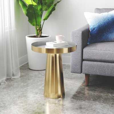Alto Drum End Table - Wayfair