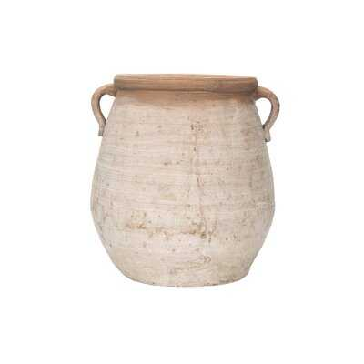 Poteet Large Terracotta Table Vase - Wayfair