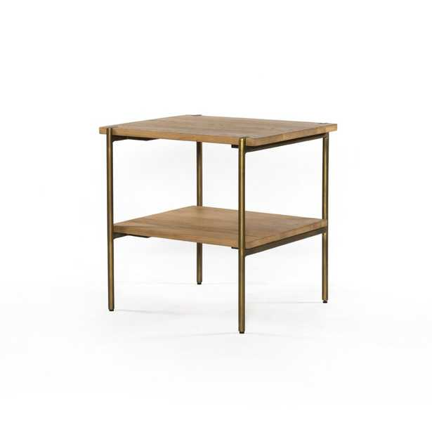 Four Hands Carlisle End Table with Storage - Perigold