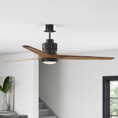 "Mcdaniels 70""  3 - Blade LED Propeller Ceiling Fan with Light Kit Included - Birch Lane"