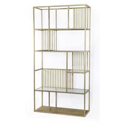 Hinkson Geometric Bookcase - Wayfair