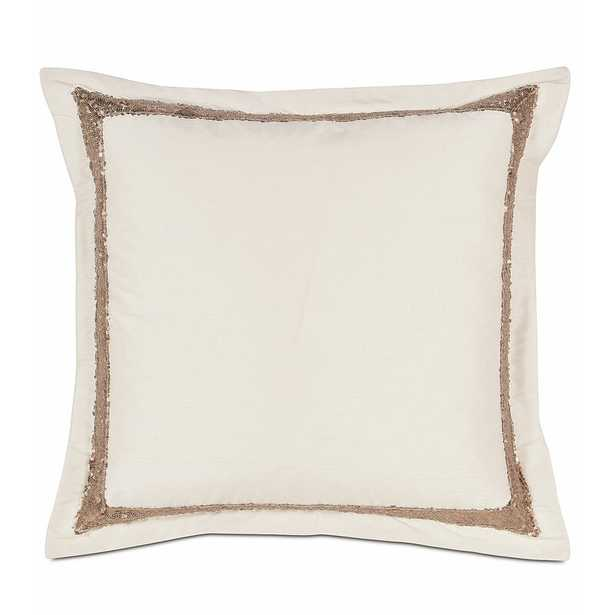 Eastern Accents Aster Sequin Border Throw Pillow - Perigold