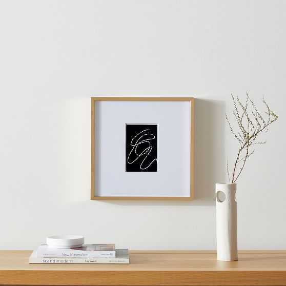 Metal Gallery Frames Polished Brass 12X12 inches - West Elm