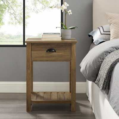 Kasey End Table with Storage - Wayfair