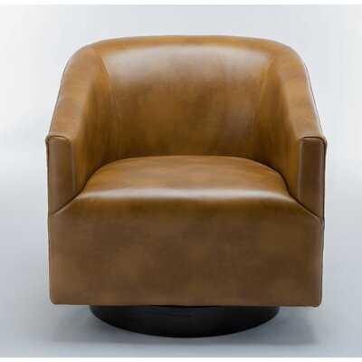 "Mcintyre Swivel 22.75"" W Barrel Chair - Wayfair"