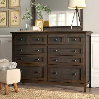 Calila 10 Drawer Double Dresser - Birch Lane