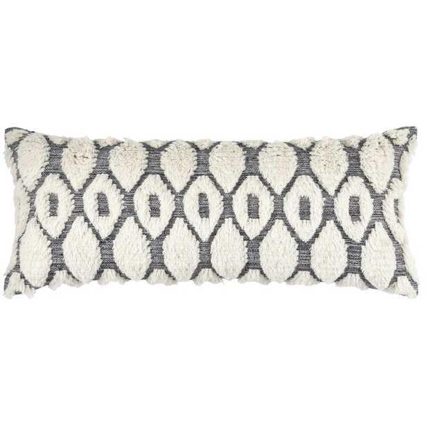 Pine Cone Hill Wool Geometric Lumbar Pillow - Perigold