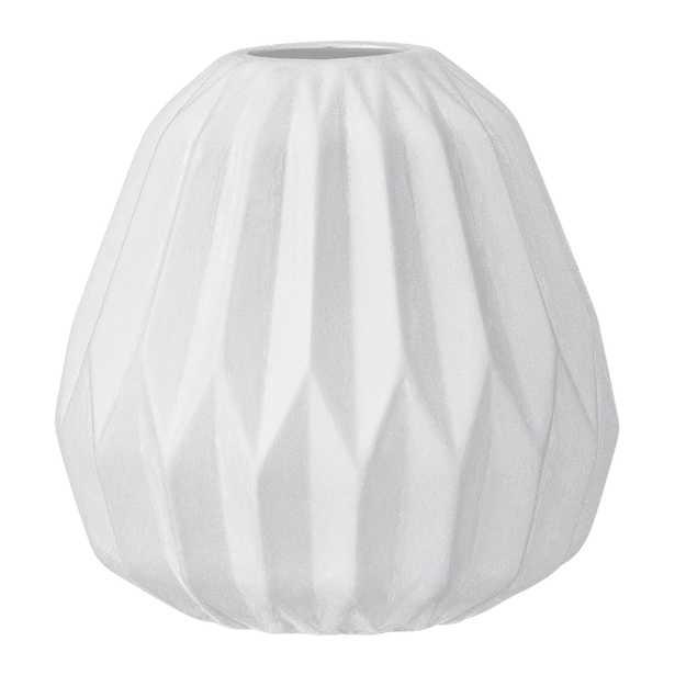 Madigan Vase, White - Lulu and Georgia