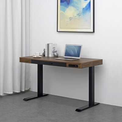 Oneonta Height Adjustable Standing Desk - Wayfair