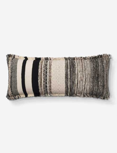 Justina Blakeney Cherry Lumbar Pillow, Ivory - Lulu and Georgia