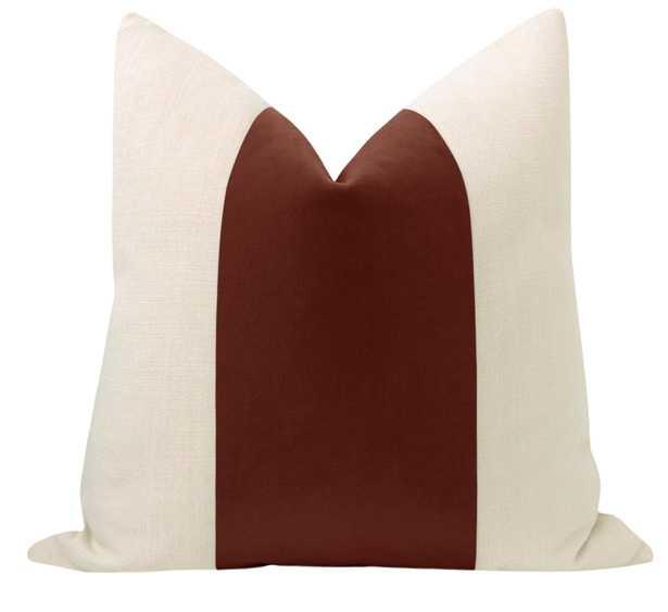 """PANEL :: Mohair Velvet // Rouge - 18"""" X 18"""" - Little Design Company"""