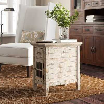 Eustace End Table with Storage - Birch Lane