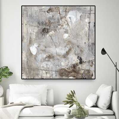 Neutral Jostle II by Timothy O' Toole - Floater Frame Print on Canvas - Wayfair