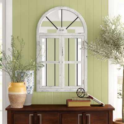 Reynolds Window Wood Wall Mirror - Birch Lane