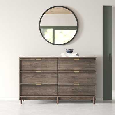 Kelsie 6 Drawer Double Dresser - AllModern
