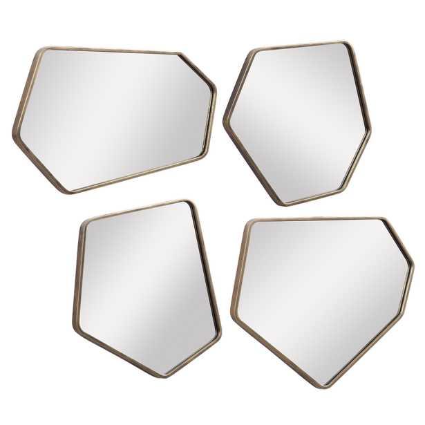 Linneah Modern Mirrors, Set of 4 - Hudsonhill Foundry