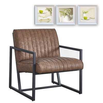 Modern Design High Quality PU  Steel Armchair For Kitchen Dining Bedroom Living Room - Wayfair