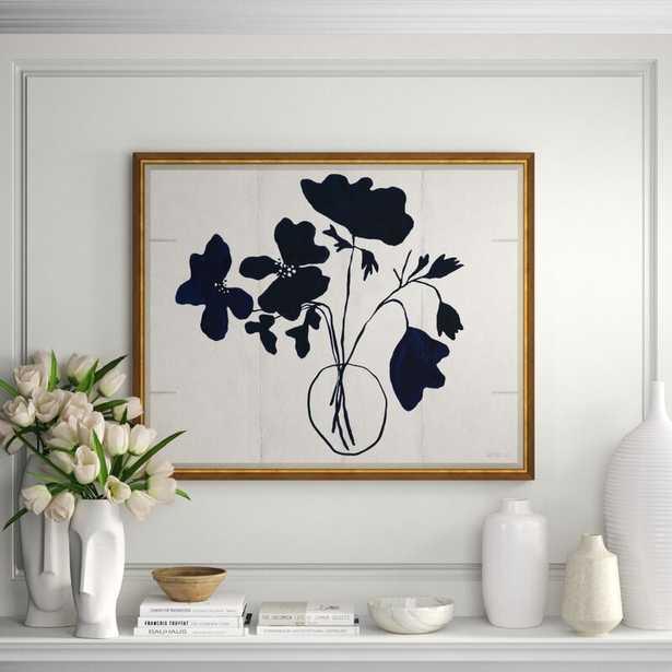 Soicher Marin Susan Hable 'Anenome' Framed Graphic Art Print - Perigold