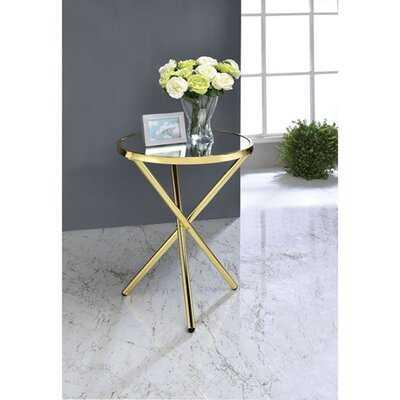 Ferrel Pedestal End Table - Wayfair