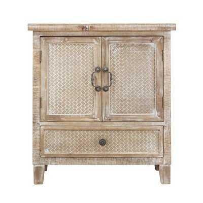 Daughtery 2 Door Square Accent Cabinet - Wayfair