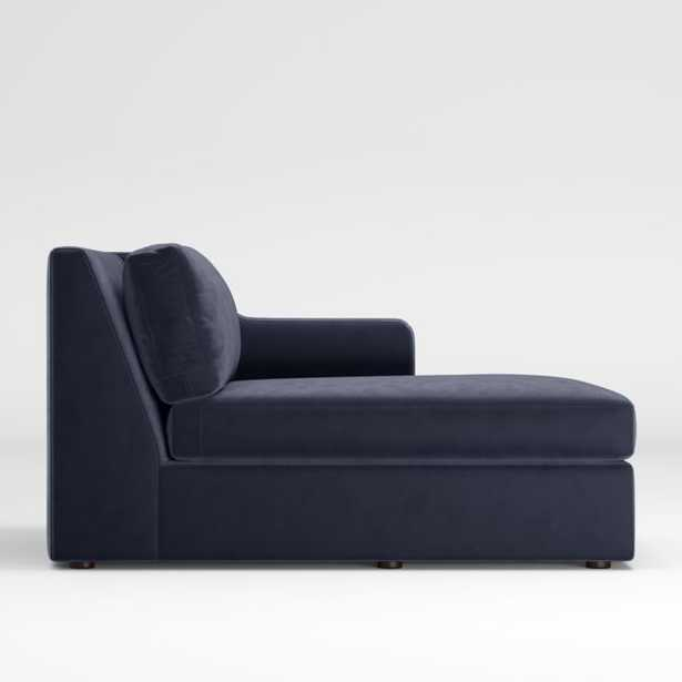 Notch Right-Arm Chaise - Crate and Barrel