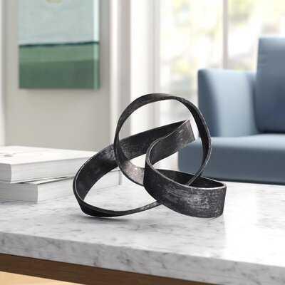 Samara Aluminum Knot Sculpture - Wayfair