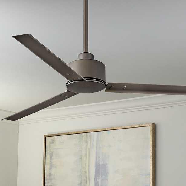 """56"""" Hinkley Indy Metallic Matte Bronze Ceiling Fan - Style # 84K01 - Lamps Plus"""