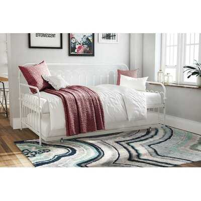Bright Pop Metal Twin Daybed with Trundle - Wayfair