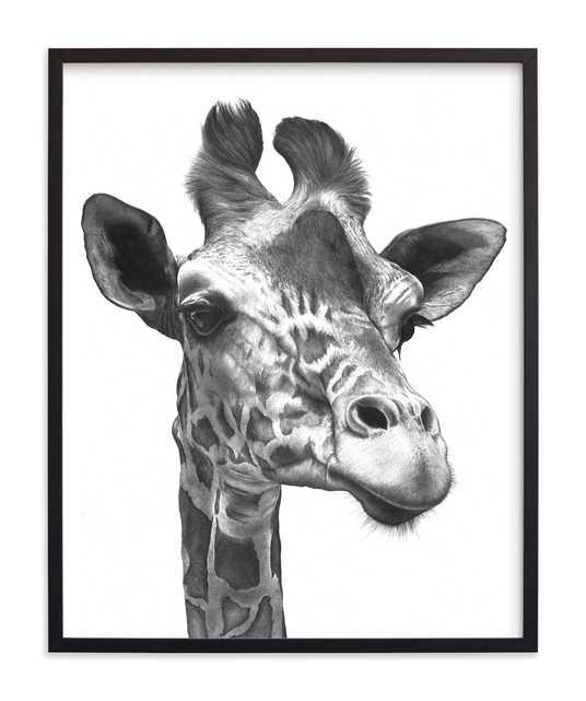 Giraffe Limited Edition Art Print - Minted