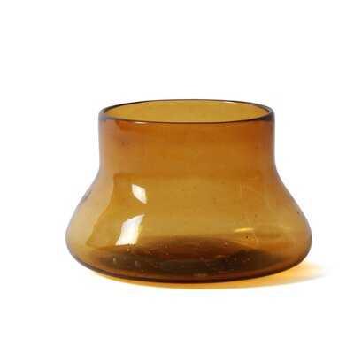 Cantel Glass Round Table Vase - Wayfair