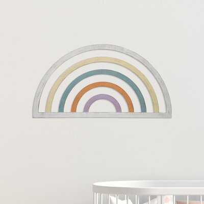 Bude Wood Rainbow 3D Wall Decor - Wayfair