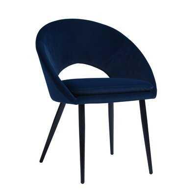 Franko Velvet Upholstered Side Chair - Wayfair