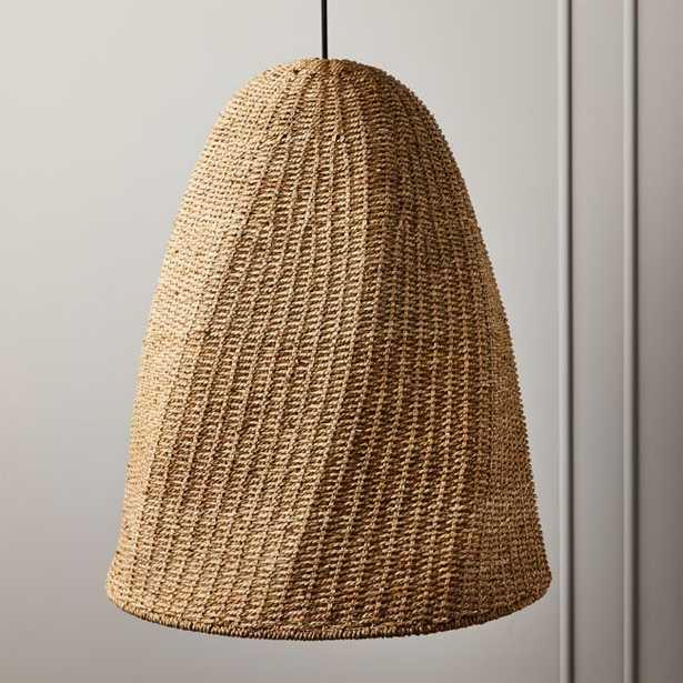 Palma Woven Pendant Light - CB2