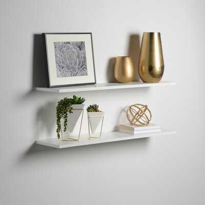 2 Piece Wall Shelf Set - Wayfair