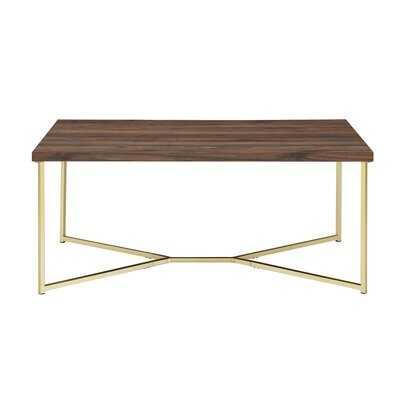 Cross Legs Coffee Table - Wayfair