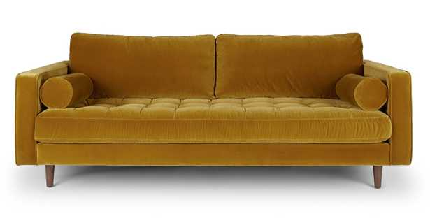 Sven Yarrow Gold Sofa - Article
