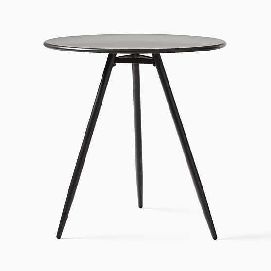 """Outdoor Wren Bistro Table, 28"""", Antique Bronze - West Elm"""