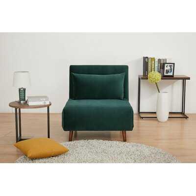 """Bolen 30.31"""" Wide Convertible Chair - Wayfair"""