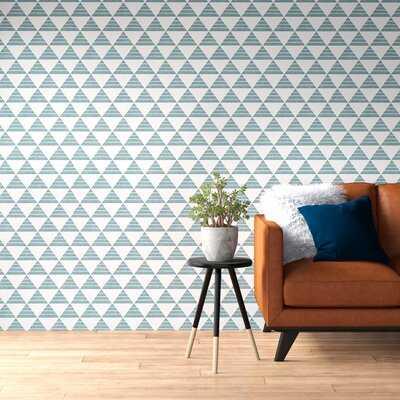 "Makai 33' x 20.5"" Triangle Wallpaper - AllModern"