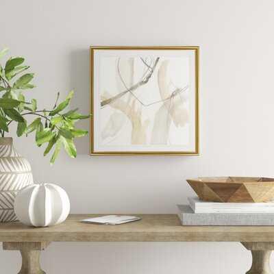 'Neutral Momentum I' - Painting Print on Canvas - Wayfair