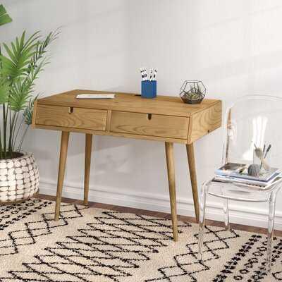 Aldrich Solid Wood Writing Desk - Wayfair