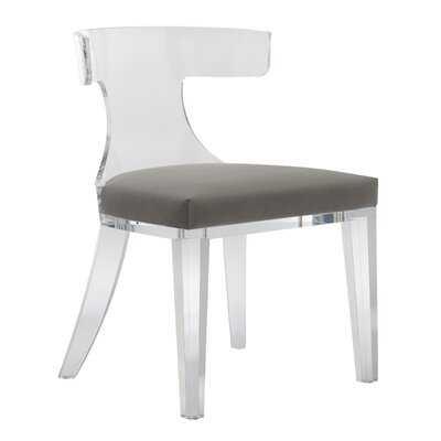 Sana Lucite Upholstered Dining Chair - Wayfair