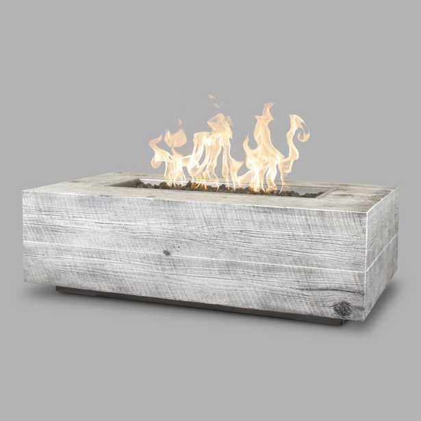 The Outdoor Plus Coronado Concrete Fire Pit Finish: Ivory, Gas Type: Propane - Perigold