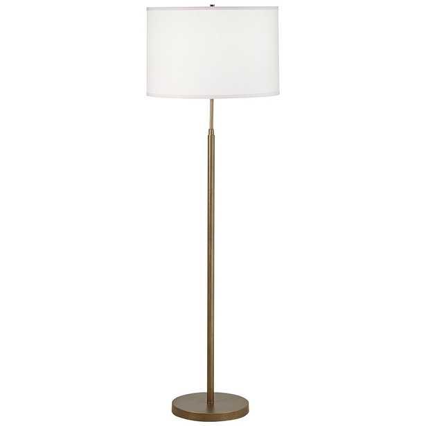 Salem Gold Thin Pole Metal Floor Lamp - Style # 92H51 - Lamps Plus