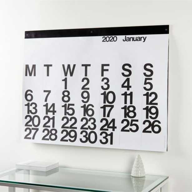 Stendig 2020 Wall Calendar - Crate and Barrel