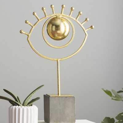 Decorative Eye on Base - AllModern