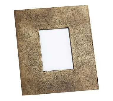 """Rena Brass Picture Frame, 5"""" x 7"""" (11"""" x 13"""" overall) - Pottery Barn"""